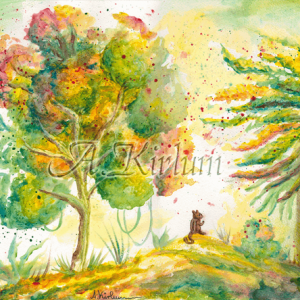 Paintings - Landscapes - Knolfis Einsamkeit