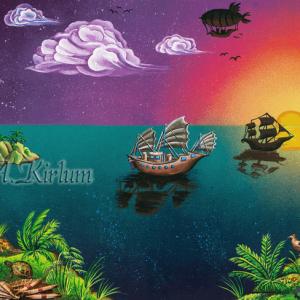 Paintings - Landscapes - Weltumrunder