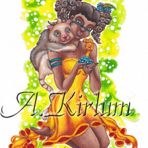 Paintings - People - Mawi und Knolfi zusammen