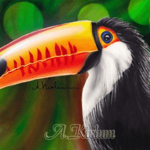 more paintings - Tukan